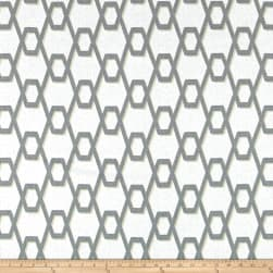 Magnolia Home Fashions Rhythm Metal Fabric
