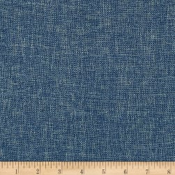 Biancheria Linen Blend Basketweave Blue Moon