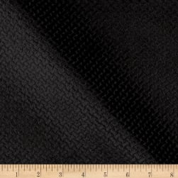 Europatex Velvet Basketweave Black Fabric