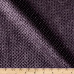 Europatex Velvet Basketweave Grape Fabric
