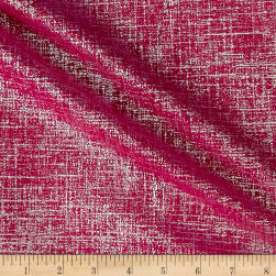 Europatex Flash Metallic Velvet Hot Pink Fabric