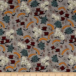 Alexander Henry Haunted House Belinda's Herbs Smoke Fabric