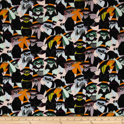 Alexander Henry Haunted House Belinda Blush Fabric