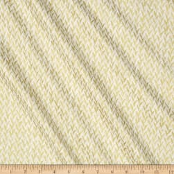 Timeless Treasures Metallic Zephyr Knit Weave Ivory Fabric