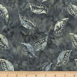 Timeless Treasures Tonga Antique Garage Batik Floating Leaves
