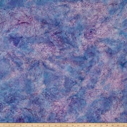 Island Batik Rayon Challis Morning Heather Lavender
