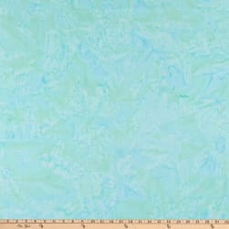 Island Batik Cotton Aqua Fabric