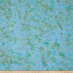 Island Batik Arc Sea Mist Fabric