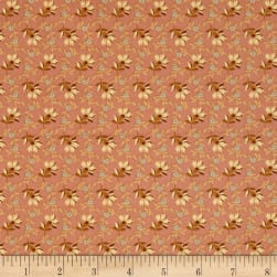 Crystal Farm Lazy Dazy Spring Pink Fabric