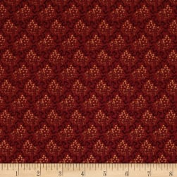 Crystal Farm Elderberry Pomegranate Red Fabric