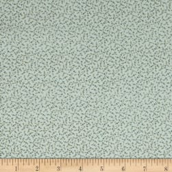 Crystal Farm Meadow Silver Buckle Fabric