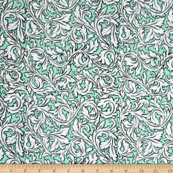 Andover Flourish Acanthus Spearmint Fabric