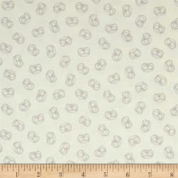 Andover Flourish Crown Powder Fabric