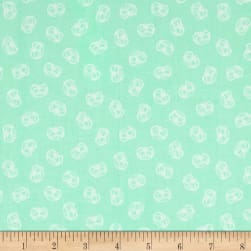 Andover Flourish Crown Spearmint Fabric