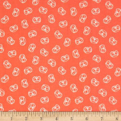 Andover Flourish Crown Coral Fabric