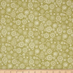 Andover/Makower Doodle Days Tonal Flowers Hessian Fabric