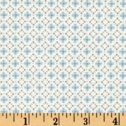 Into The Woods Ditzy Blue Fabric