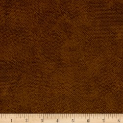 Andover Dimples Brown Dog Fabric