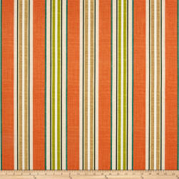 Bryant Indoor/Outdoor Baja Linen Stripe Coral Fabric