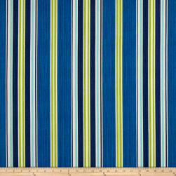 Bryant Indoor/Outdoor Saladino Stripe Aquamarine Fabric