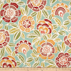 Bryant Indoor/Outdoor Unala Multi Aqua Fabric