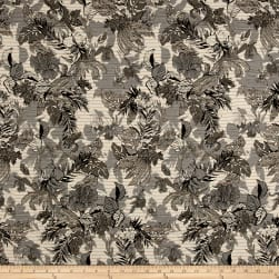 French Reversible Tropical Floral Jacquard
