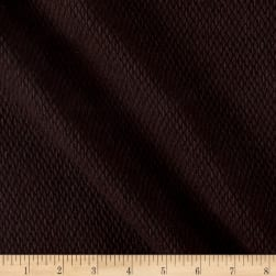 Italian Textured Wool Boucle Brown Fabric