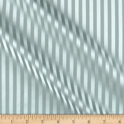 Covington Crown Stripe Satin Glacier Fabric
