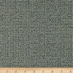 Covington Quadrant Basketwaeve Seaglass Fabric