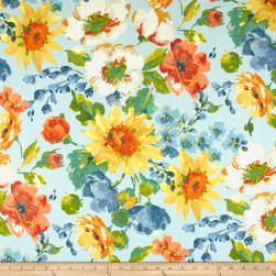 Swavelle/Mill Creek Indoor/Outdoor Alfina Robin's Egg Fabric