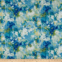 Swavelle/Mill Creek Frolicking Island Blue Fabric