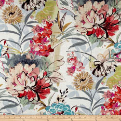 Swavelle/Mill Creek Springbriar Tealberry Fabric