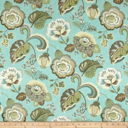Swavelle/Mill Creek Pleasantries Cerulean Fabric