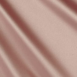 Stretch L'Amour Satin Rive Rose Fabric