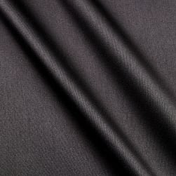 Stretch L'Amour Satin Black Fabric