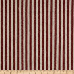 Golding by P/Kaufmann Scout Stripe Canvas Burgundy