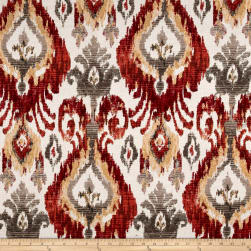 Swavelle/Mill Creek Arazi Chenille Jacquard Flame Fabric