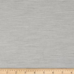 Double-Faced Stretch Suiting Heather Gray Fabric