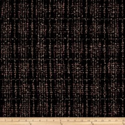 Boucle Plaid Plum/Black/Gray Fabric