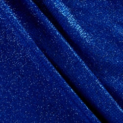 Slinky Acetate Knit Sparkle Blue