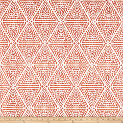 Lacefield Designs Miguel Linen Blend Basketweave Papaya Fabric
