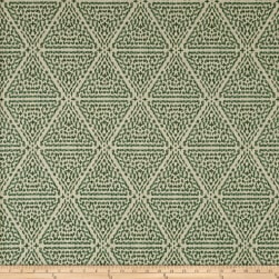 Lacefield Designs Miguel Linen Blend Basketweave Verde Fabric