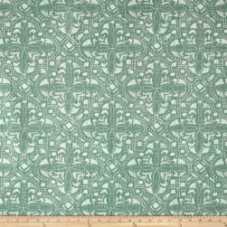 Lacefield Designs Sandoval Linen Blend Basketweave Verde Fabric