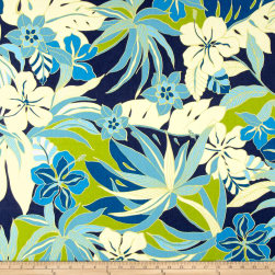 Tommy Bahama Home Hibiscus Glow Caribbean Fabric