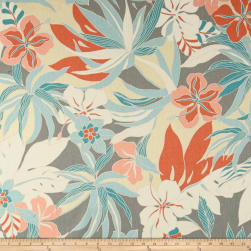 Tommy Bahama Home Hibiscus Glow Nectar Fabric