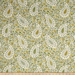Waverly Paisley Verviene Spring Duck Fabric
