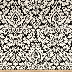Waverly Dashing Damask Graphite Duck Fabric