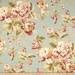 Waverly Fleuretta Mist Duck Fabric