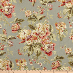 Waverly Fleuretta Slate Duck Fabric