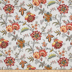 Waverly Island Gem Silver Duck Fabric